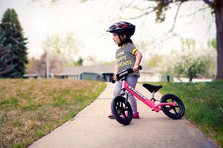 Il casco in bici