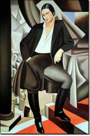 foto Ritratto della Duchessa de la Salle, 1925 Tamara de Lempicka