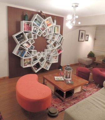Mandala Bookshelf from ApartmentTherapy.com