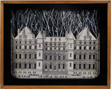 Setting for a Fairy Tale, 1942 – di Joseph Cornell  Opera esposta presso il Guggenheim Museums and Foundation – New York