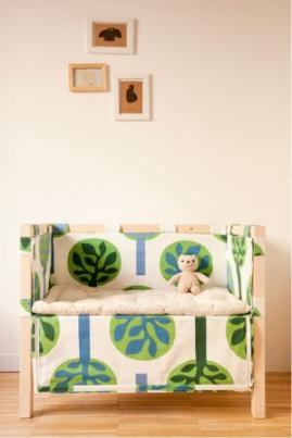 Culla per il co-sleeping Madori Design: completamente artigianale ecologica e made in italy