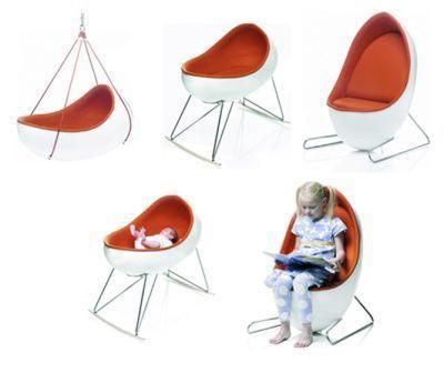 Culla trasformabile in poltroncina FACO Design Company