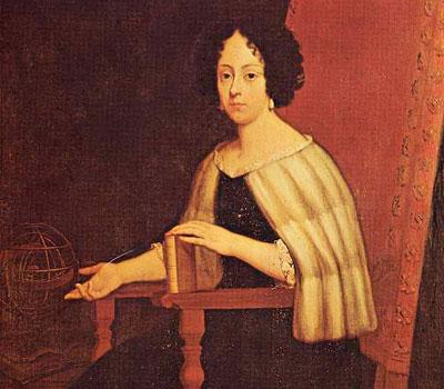Ritratto di Elena Lucrezia Cornaro Piscopia, Ignoto (sec. XVIII?), Biblioteca Ambrosiana, Milano. (book : F. L. Maschietto, Elena Lucrezia Cornaro Piscopia (1646-1684).