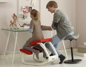 sedia ergonomica variabile
