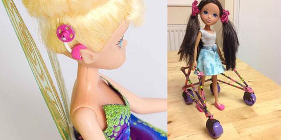 Toy Like Me è una comunità di genitori di bambini disabili che spinge i produttori a migliorare la rappresentazione della disabilità nei giocattoli. Clicca sulla foto per andare sulla loro pagina Facebook.