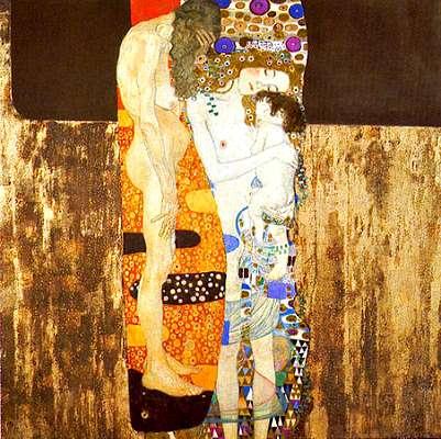 Gustav Klimt - Trois ages de la femme