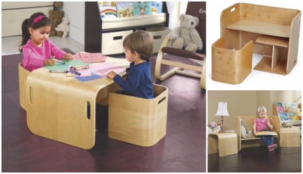 Multi Function table and chair set