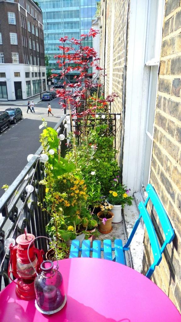Piccolo balcone, grande soddisfazione
