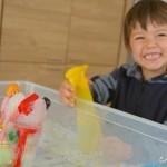 ghiaccio giochi estivi bambini