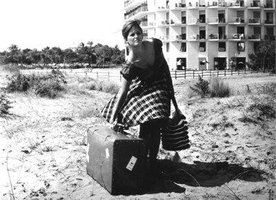 """da """"La ragazza con la valigia"""" di Valerio Zurlini, con Claudia Cardinale, 1960"""