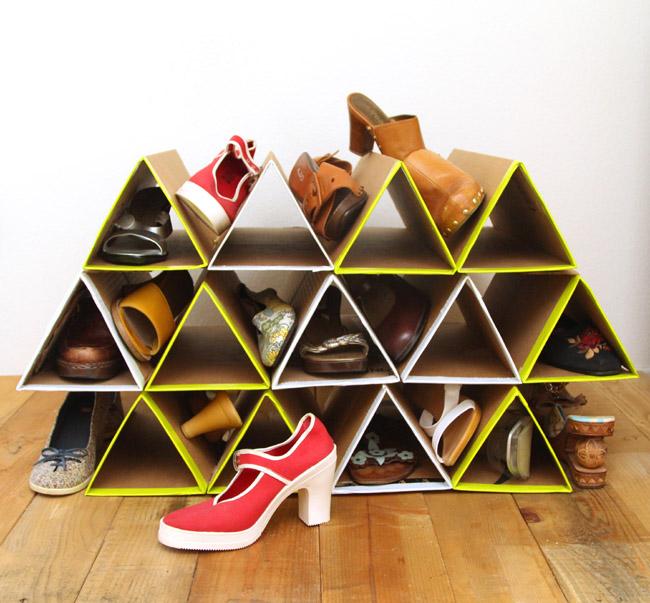 organizzare scarpe