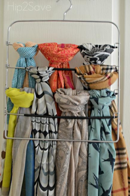sciarpe organizzate