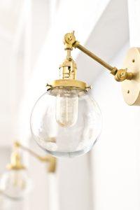 diy brass globe