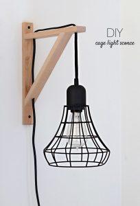 cage light diy